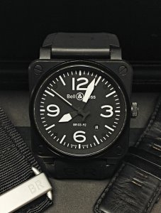 Bell & Ross BR03-92 Phantom Black Dial