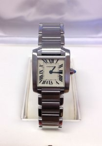 Cartier Tank Francaise W51008Q3 Ladies 20mm