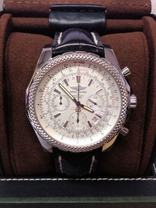 Breitling for Bentley Motors A25362 Recently Serviced