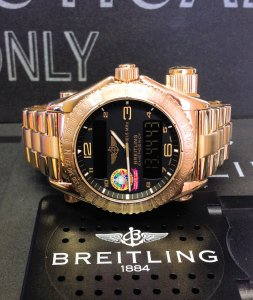 Breitling Emergency Orbiter III Yellow Gold