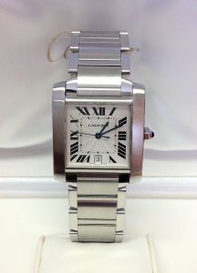 Cartier Tank Francaise W51002Q3 Automatic 30mm