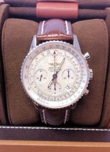 Breitling Navitimer A23322 Silver Dial