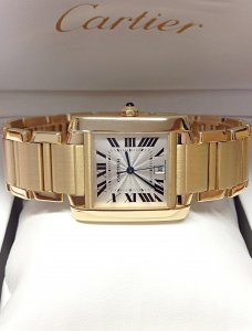 Cartier Tank Francaise W50001R2 Yellow Gold 30mm