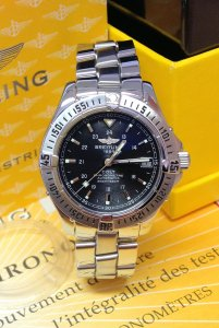 Breitling Colt Automatic A17350 Black Dial