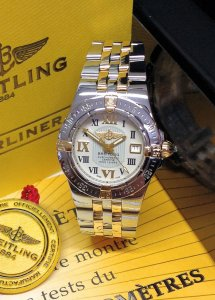 Breitling Starliner B71340 Ivory Dial