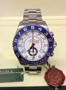 Rolex Yacht-Master II 116680 Stainless Steel 44mm
