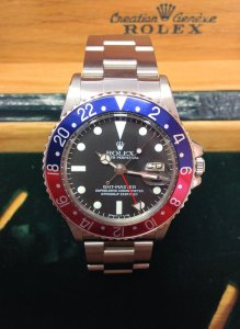 Rolex GMT Master 1675 Pepsi Bezel From 1978