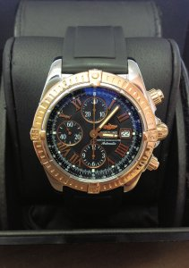 Breitling Chronomat Evolution C13356 Black Dial