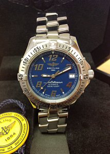 Breitling Colt Automatic A17350 Blue Dial