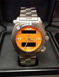 Breitling Emergency E76321 Coral Dial