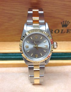 Rolex Ladies Oyster Perpetual 67193 24mm Bi/Colour