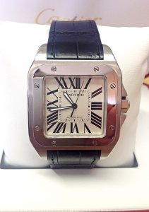 Cartier Santos 100 W20073X8 Stainless Steel