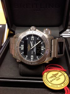 Breitling Emergency E76321 Black Dial + Co-Pilot