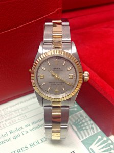 Rolex Ladies Oyster Perpetual 76193 24mm Bi/Colour