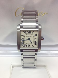 Cartier Tank Francaise W51011Q3 25mm Mid/Size