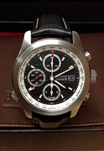 Bremont ALT1-WT/BK World Timer Black Dial