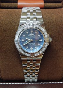 Breitling Starliner A71340 Diamond Bezel
