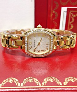 Cartier Tortue WA5027P4 Ladies Diamond Set
