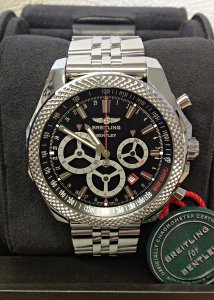 Breitling for Bentley Barnato Racing A25366 Black Dial