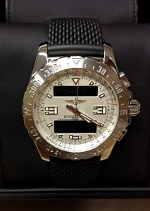 Breitling Airwolf A78363 Silver Dial