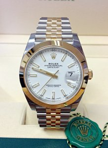 Rolex Datejust 41mm 126303 Bi/Colour Unworn