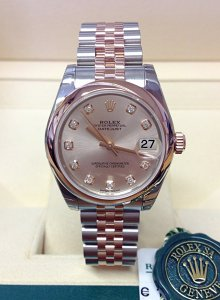 Rolex Datejust Lady 31mm 178241 Mid/Size Unworn