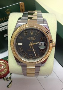 Rolex Datejust II 116333 Bi/Colour 41mm