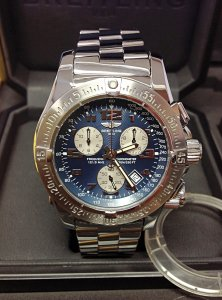 Breitling Emergency Mission A73322 Blue Dial