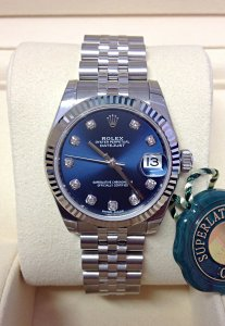 Rolex Datejust Lady 31mm 178274 Unworn