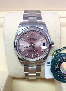 Rolex Datejust Lady 31mm 178240 Mid/Size Unworn