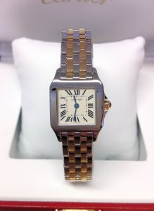 Cartier Santos Demoiselle W25066Z6 Bi/Colour
