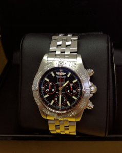 Breitling Blackbird A44359 Red Strike Limited Edition