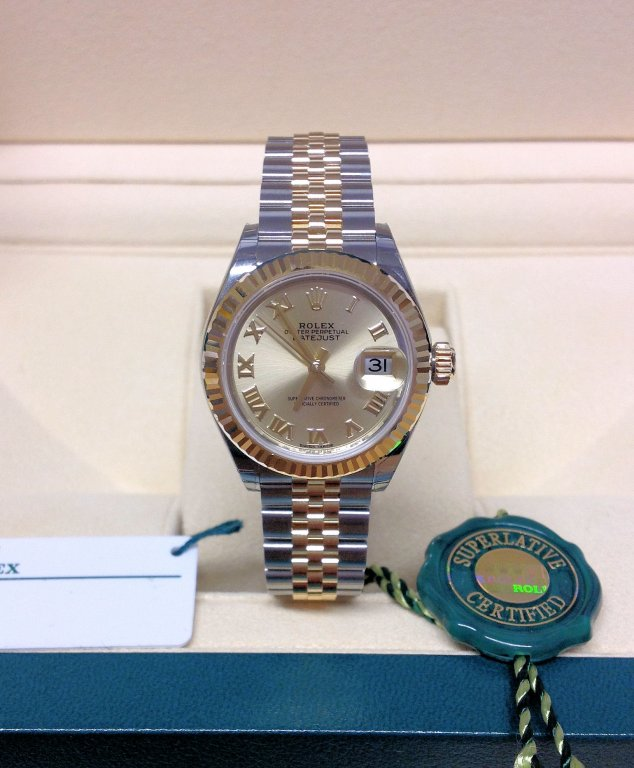 Rolex Lady Datejust 28mm 279173 Champagne