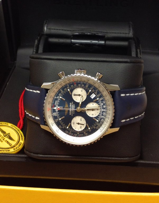 Breitling Navitimer A23322 Blue Dial