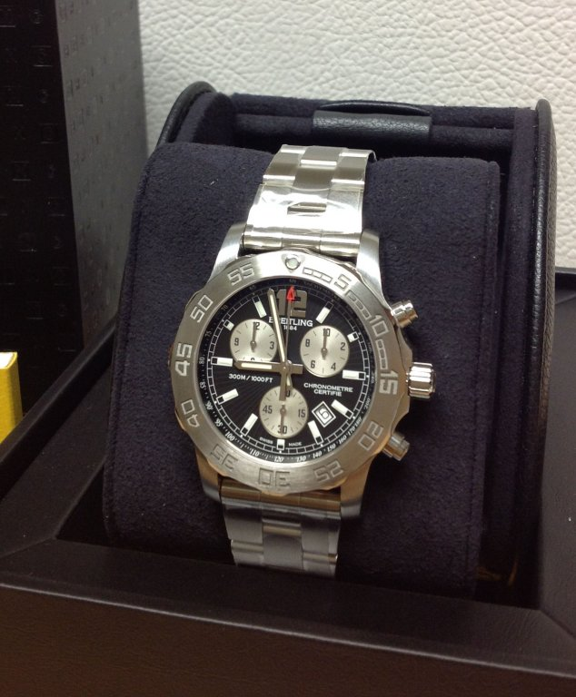 breitling outlet store 568i  breitling colt chronograph men's watch