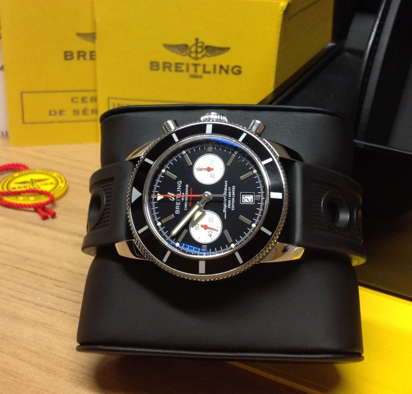 breitling superocean heritage chronograph limited edition 125th anniversary