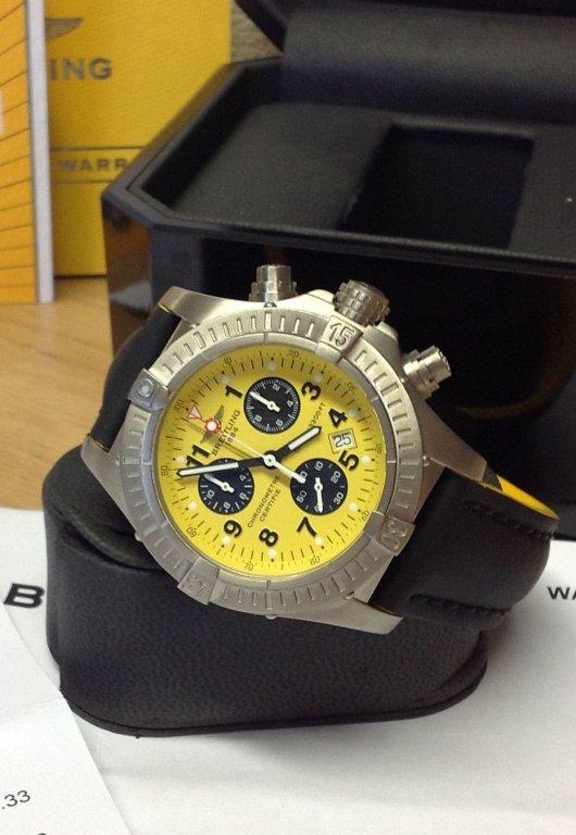 Breitling Chrono Avenger Yellow