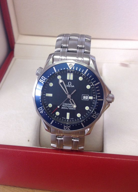 Omega Seamaster 2541.80.00 41mm Quartz