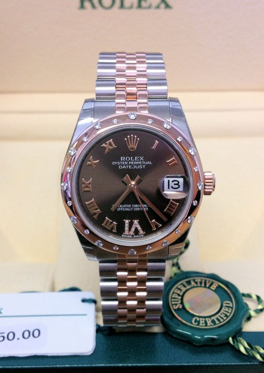 Rolex Datejust 31mm 178341 Chocolate Dial