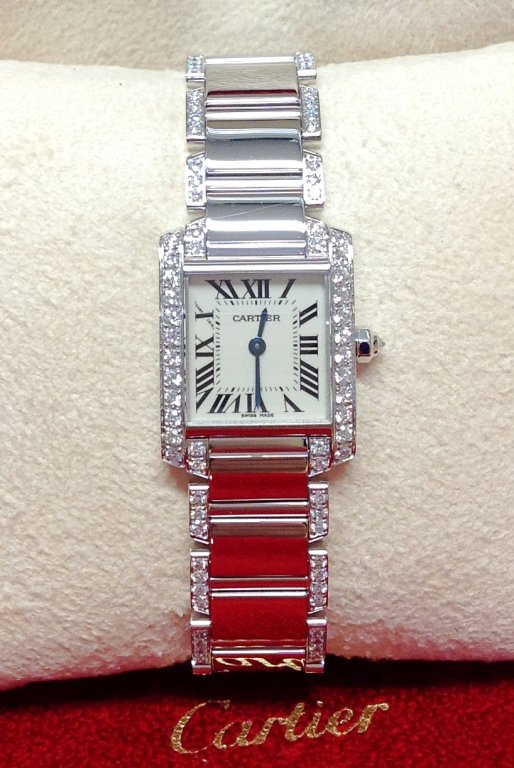 Cartier Tank Francaise WE1002SF Ladies 20mm