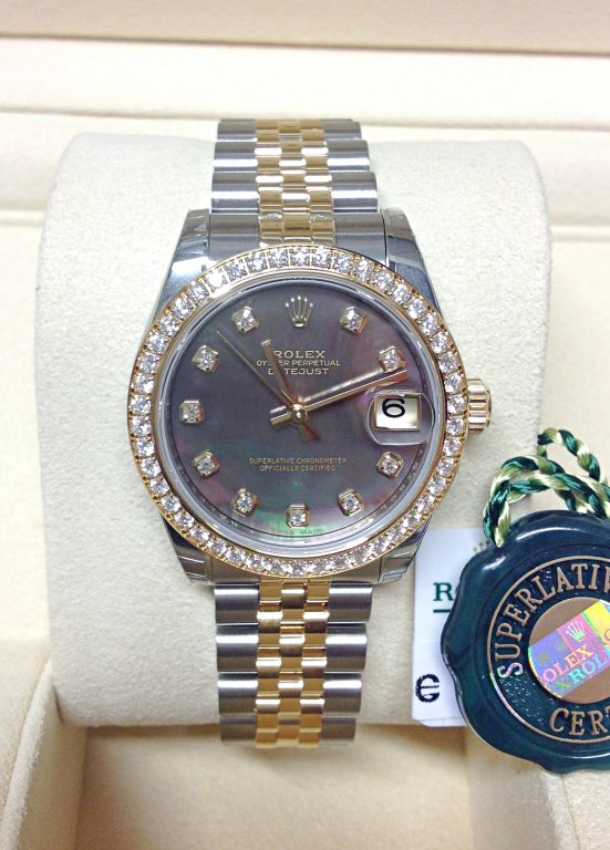 Rolex Datejust 31mm 178383 Diamond Bezel