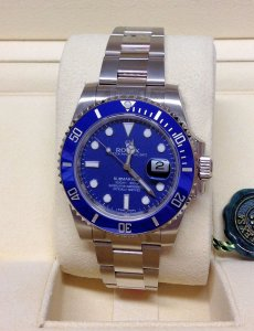 Rolex Submariner Date 116619LB White Gold Unworn