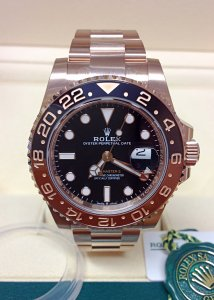 Rolex GMT Master II 126715CHNR Rose Gold