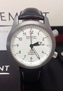 Bremont MBII-WH/OR Martin Baker II Orange Side