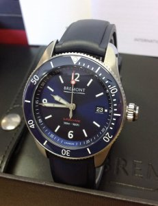 Bremont Supermarine S300 Blue Dial