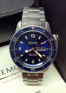 Bremont Supermarine Diving S500/BL/BR Blue Dial