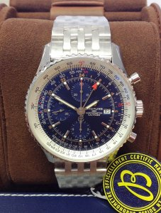Breitling Navitimer 1 A24322 Chronograph GMT 46 Unworn