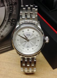 Oris Artelier Date Diamonds 01 561 7604 4041
