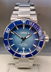 Oris Aquis Lake Baikal Limited Edition 01 733 7730 4175