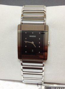 Rado Integral R20484172 Black Dial 27mm